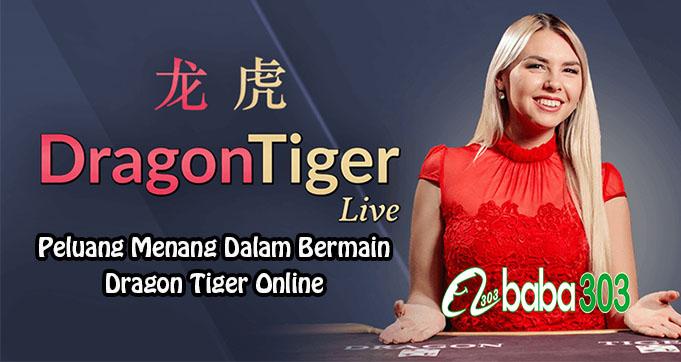 Peluang Menang Dalam Bermain Dragon Tiger Online